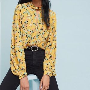 Anthropologie Meadowsweet Blouse 10, limited qty